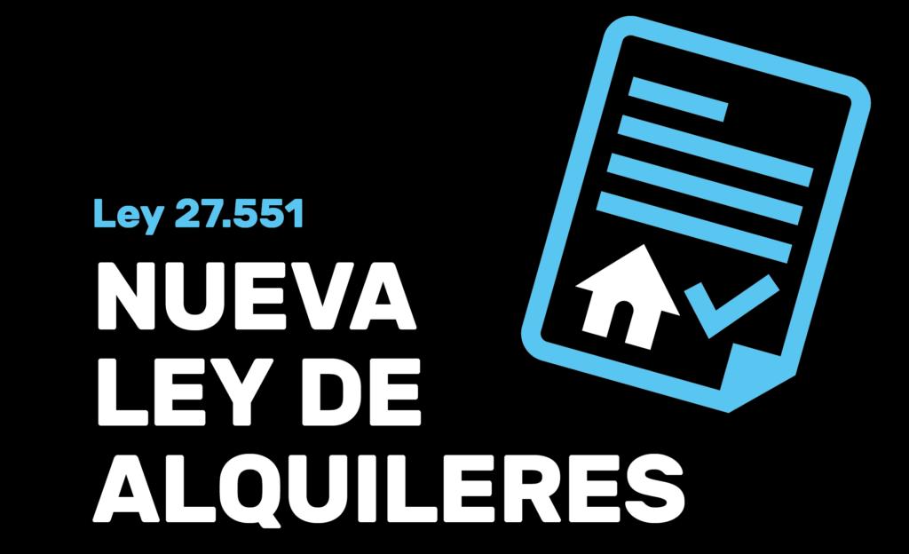 LEY 27551. Nueva regulación en materia de alquileres