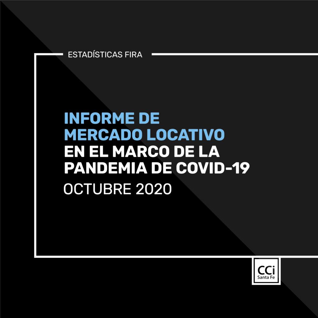 ESTADÍSTICAS FIRA – OCTUBRE 2020