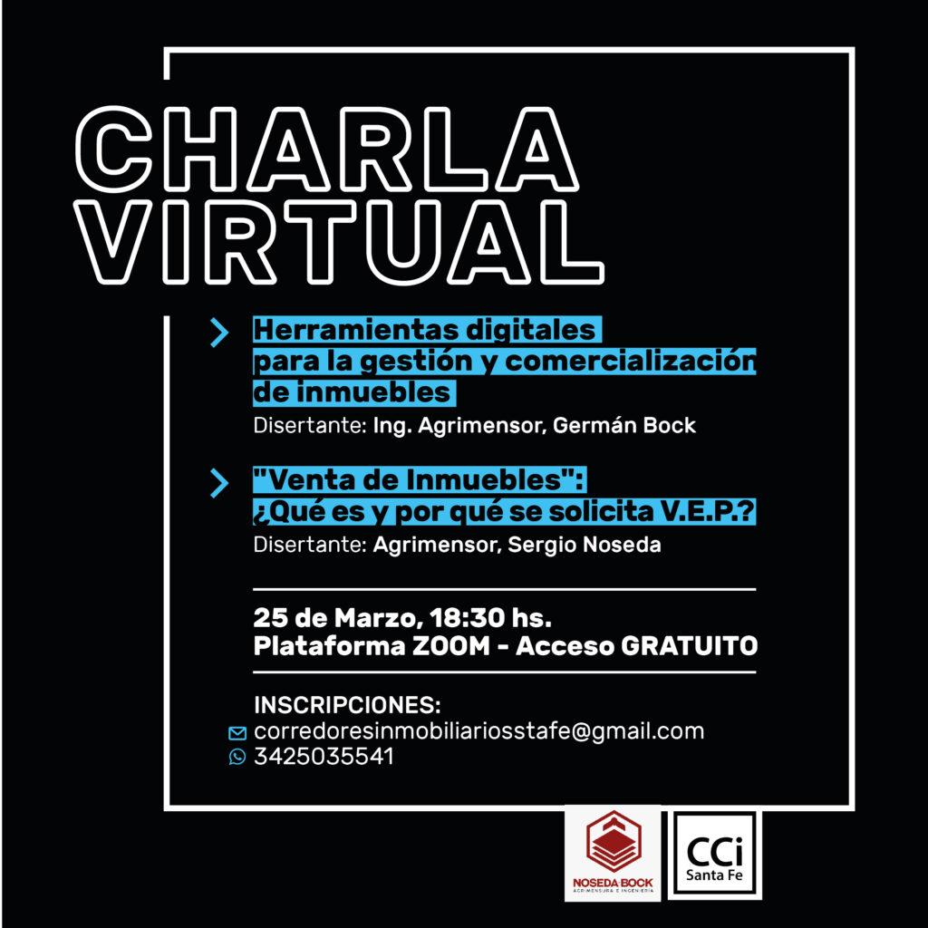 Charla Virtual
