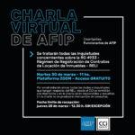 Charla Virtual de AFIP