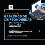 Nuevas charla virtual: HABLEMOS DE CRIPTOMONEDAS